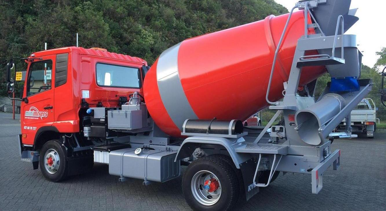 Small Concrete Load Delivery in the Wellington region